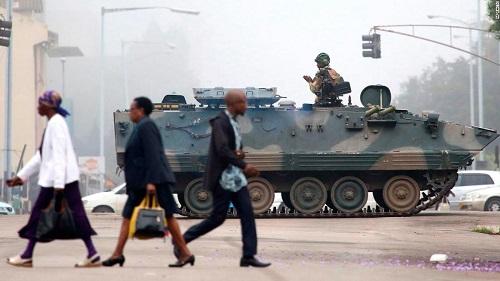 Cộng đồng quốc tế lên tiếng về bất ổn quân sự ở Zimbabwe - Ảnh 1