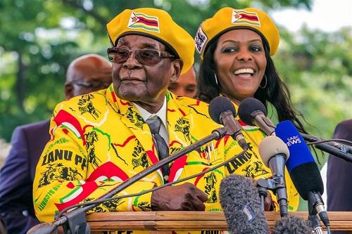 Hành trình 37 năm từ đỉnh cao đến vực sâu của cựu Tổng thống Zimbabwe - Ảnh 12