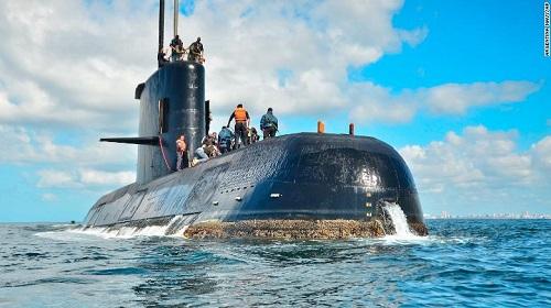 Vụ tàu ngầm Argentina mất tích: Công bố nguyên nhân gây nổ - Ảnh 1