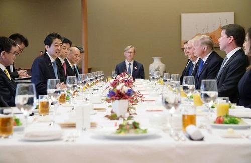 Tổng thống Mỹ Donald Trump diện kiến Nhật Hoàng Akihito - Ảnh 3