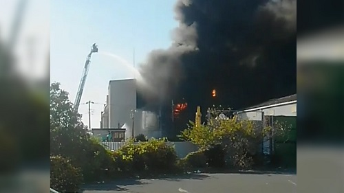 Nhật Bản: Nổ nhà máy hóa chất làm 14 người bị thương, hàng trăm người di tản - Ảnh 1