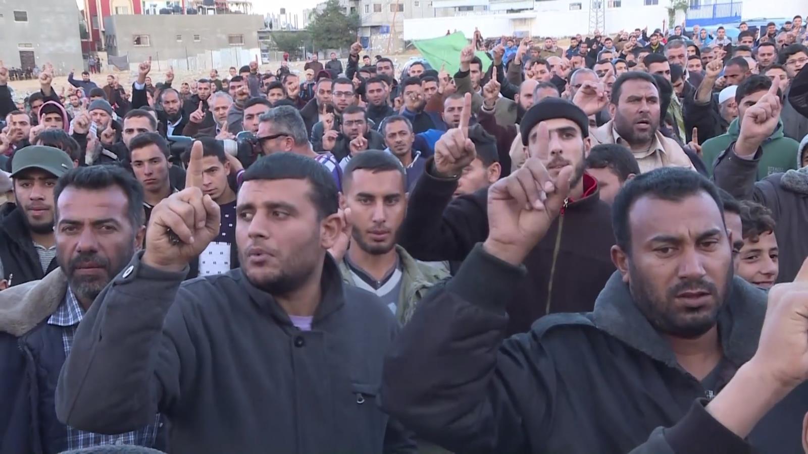 Ngọn lửa biểu tình bùng cháy khắp Bờ Tây và dải Gaza sau quyết định của Tổng thống Trump  - Ảnh 3
