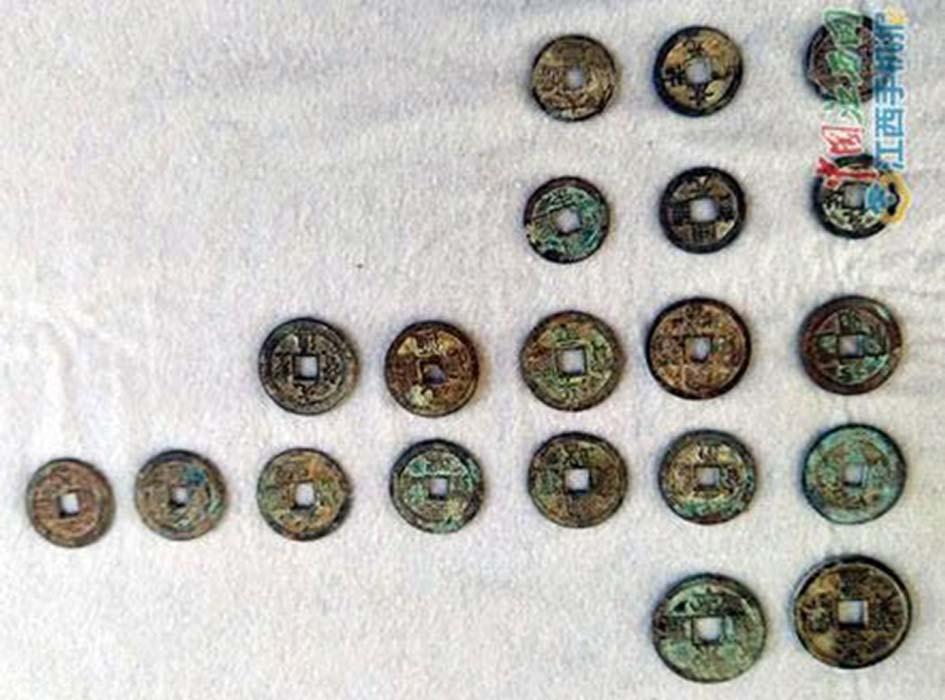 Bí ẩn 5,6 tấn tiền xu được phát hiện tại Trung Quốc - Ảnh 1