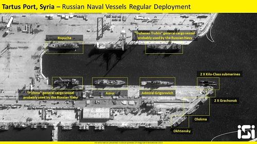 10 tàu chiến Nga rời cảng Syria trong lúc 'nước sôi lửa bỏng' - Ảnh 1