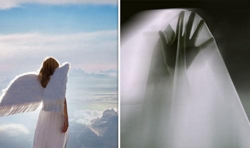 Lạ kỳ: Người phụ nữ tuyên bố gặp thiên thần trong tích tắc - Ảnh 1