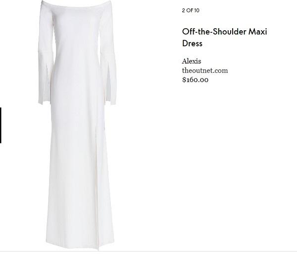 10 mẫu đầm trắng đẹp lộng lẫy như váy cưới Givenchy của công nương Meghan giá chỉ từ 3,6 triệu đồng - Ảnh 3