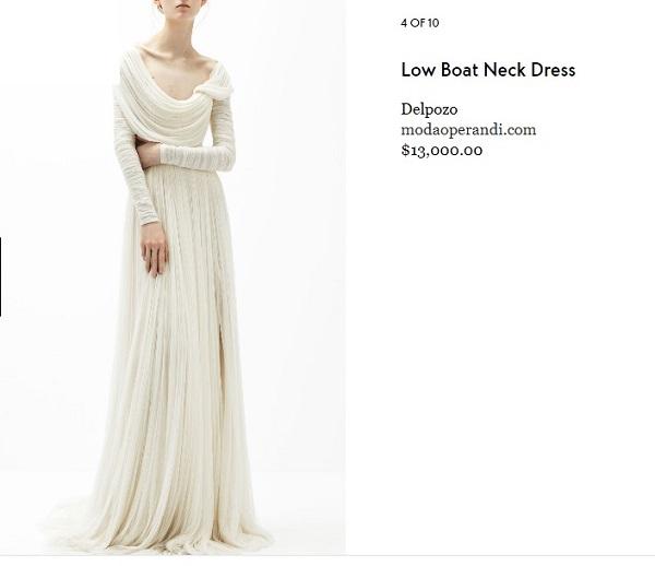 10 mẫu đầm trắng đẹp lộng lẫy như váy cưới Givenchy của công nương Meghan giá chỉ từ 3,6 triệu đồng - Ảnh 5