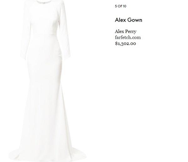 10 mẫu đầm trắng đẹp lộng lẫy như váy cưới Givenchy của công nương Meghan giá chỉ từ 3,6 triệu đồng - Ảnh 6