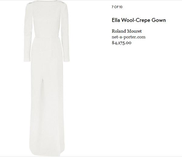10 mẫu đầm trắng đẹp lộng lẫy như váy cưới Givenchy của công nương Meghan giá chỉ từ 3,6 triệu đồng - Ảnh 8