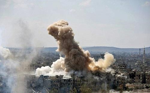 Nga bắn hạ máy bay không người lái tiếp cận căn cứ ở Syria - Ảnh 1