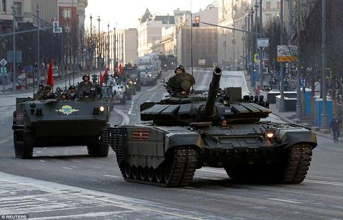 Quân đội Nga diễn tập rầm rộ, phô diễn sức mạnh chuẩn bị mừng Ngày Chiến thắng - Ảnh 13