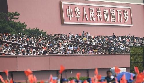 15.000 binh sĩ, 160 máy bay tham gia lễ duyệt binh kỷ niệm 70 năm Quốc khánh Trung Quốc - Ảnh 3