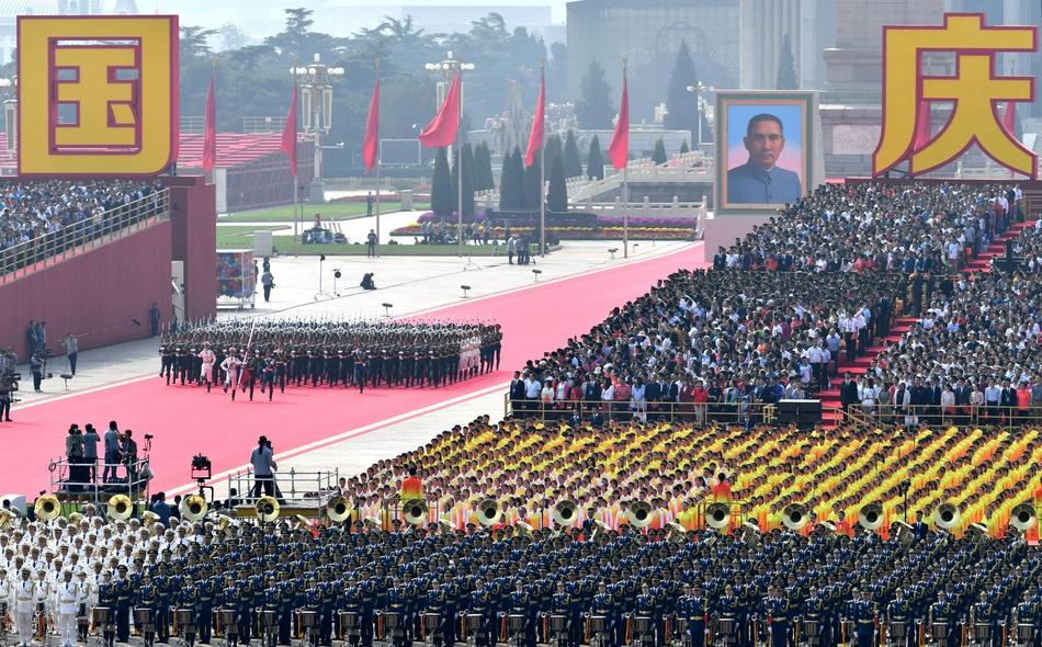 15.000 binh sĩ, 160 máy bay tham gia lễ duyệt binh kỷ niệm 70 năm Quốc khánh Trung Quốc - Ảnh 6
