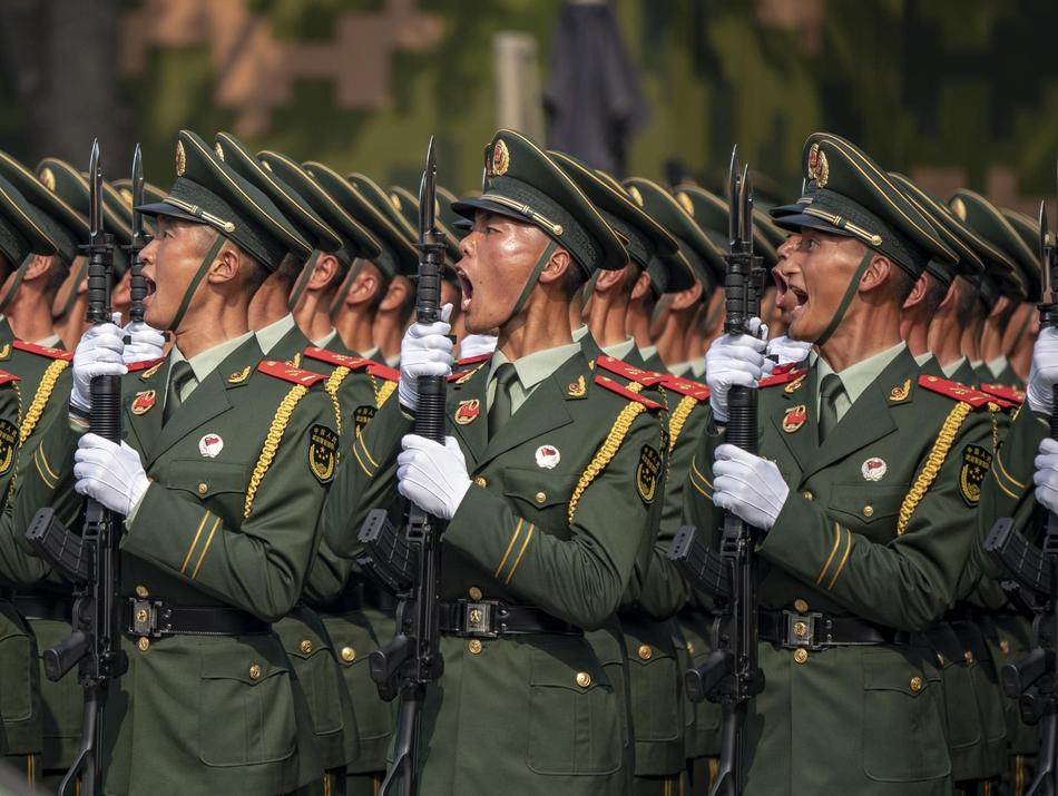 15.000 binh sĩ, 160 máy bay tham gia lễ duyệt binh kỷ niệm 70 năm Quốc khánh Trung Quốc - Ảnh 7