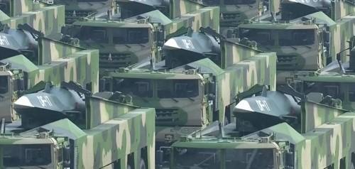 Cận cảnh dàn vũ khí tối tân trong lễ duyệt binh kỷ niệm 70 năm Quốc khánh Trung Quốc - Ảnh 12