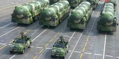 Cận cảnh dàn vũ khí tối tân trong lễ duyệt binh kỷ niệm 70 năm Quốc khánh Trung Quốc - Ảnh 13