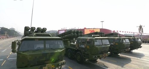 Cận cảnh dàn vũ khí tối tân trong lễ duyệt binh kỷ niệm 70 năm Quốc khánh Trung Quốc - Ảnh 4