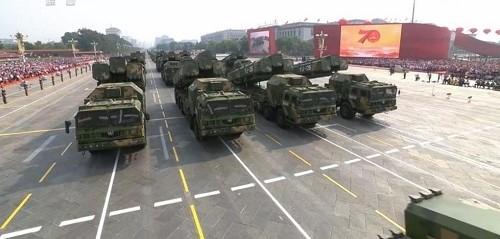 Cận cảnh dàn vũ khí tối tân trong lễ duyệt binh kỷ niệm 70 năm Quốc khánh Trung Quốc - Ảnh 6