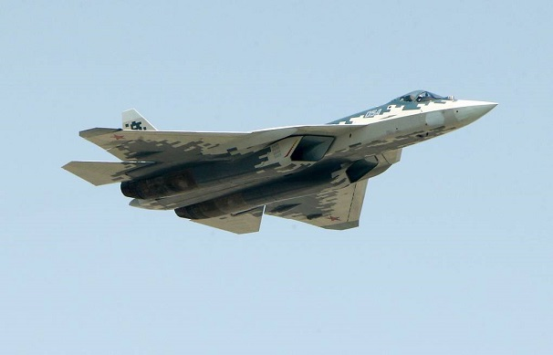 Tiêm kích Nga Su-57 vẫn chưa được trang bị vũ khí nâng cấp - Ảnh 1