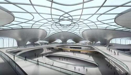Bên trong siêu sân của Trung Quốc được xây từ 1,6 triệu m3 bê tông, 52.000 tấn thép - Ảnh 2