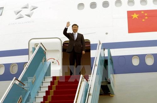 Chủ tịch Trung Quốc Tập Cận Bình lên máy bay rời Hà Nội - Ảnh 1