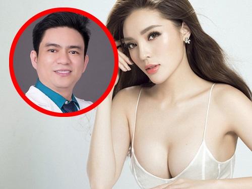 """Hoa hậu Kỳ Duyên và bác sĩ Chiêm Quốc Thái lên tiếng về tin đồn """"cặp kè"""" - Ảnh 1"""