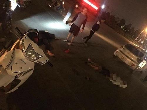 Không gọi được xe cứu thương, cảnh sát PCCC tới xử lý vụ tai nạn - Ảnh 2