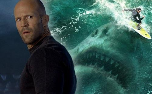 Jason Statham, Lý Băng Băng chạm trán siêu cá mập Megalodon - Ảnh 2