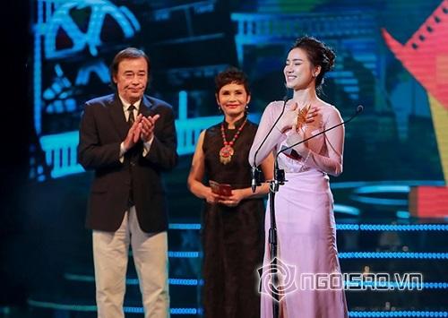 Nhã Phương giành giải nữ chính xuất sắc tại Cánh diều 2017 - Ảnh 1