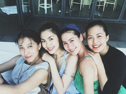 Hội bạn thân Tăng Thanh Hà tái hợp khiến fan thích thú - Ảnh 2