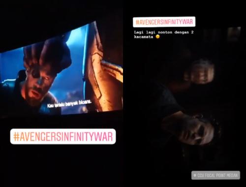 """Vừa công chiếu, """"Avengers: Infinity War"""" đã bị quay lén đưa lên mạng - Ảnh 2"""