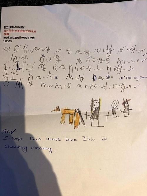 """Nguyên nhân không ai ngờ khiến cô bé 5 tuổi """"ghét cả nhà"""" trong bài tập làm văn - Ảnh 1"""
