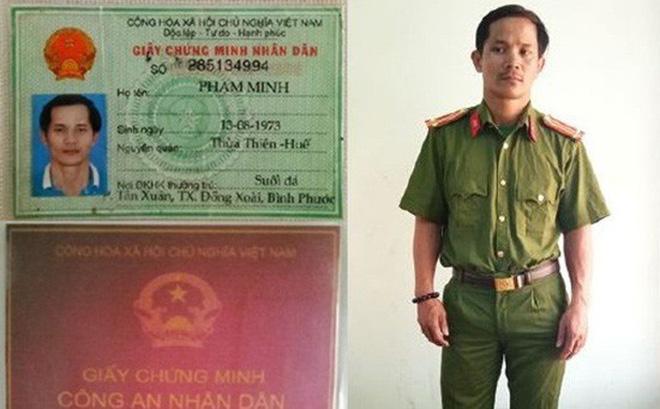 Người đàn ông mang 2 tiền án bị bắt vì giả danh trung tá công an - Ảnh 1