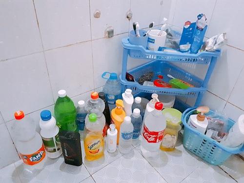 Mới chớm hè, sinh viên đã bắt đầu nghĩ đủ cách để dự trữ nước sạch - Ảnh 1