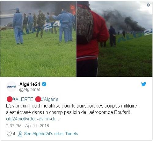 Ảnh hiện trường vụ rơi máy bay quân sự Algeria khiến 200 người chết - Ảnh 1