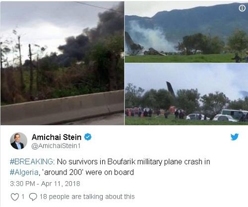 Ảnh hiện trường vụ rơi máy bay quân sự Algeria khiến 200 người chết - Ảnh 3