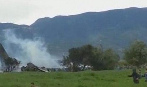 Ảnh hiện trường vụ rơi máy bay quân sự Algeria khiến 200 người chết - Ảnh 5