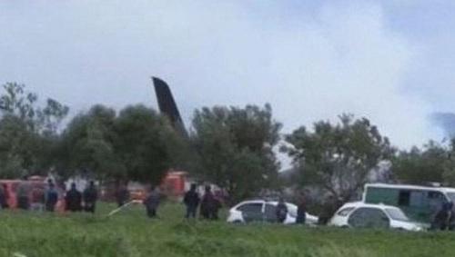 Ảnh hiện trường vụ rơi máy bay quân sự Algeria khiến 200 người chết - Ảnh 6