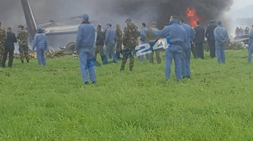 Ảnh hiện trường vụ rơi máy bay quân sự Algeria khiến 200 người chết - Ảnh 7