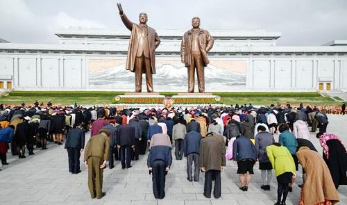 Triều Tiên kỷ niệm 106 năm ngày sinh cố lãnh đạo Kim Nhật Thành - Ảnh 2