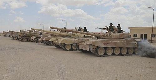 Loạt ảnh chứng minh việc Mỹ không kích thành công Syria là sai sự thật - Ảnh 7