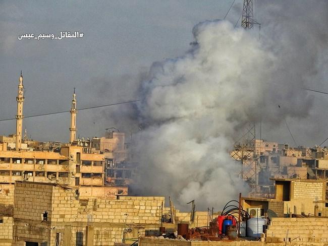 Syria tấn công kép tiêu diệt quân khủng bố ở Bắc Hama và Nam Damascus - Ảnh 4