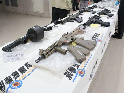Đài Loan: Phá  đường dây buôn lậu vũ khí trị giá triệu đô  - Ảnh 1