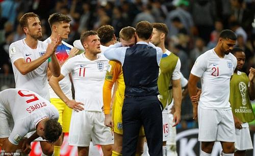 Thất bại trước Croatia, hàng loạt cầu thủ Anh bật khóc như mưa - Ảnh 6