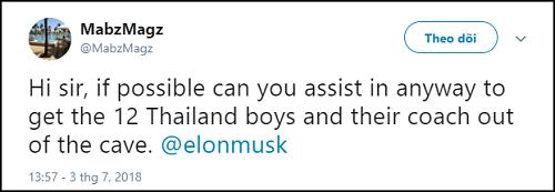 Chỉ 1 dòng trạng thái của cư dân mạng, Elon Musk sẵn sàng giúp đỡ đội bóng Thái Lan - Ảnh 1