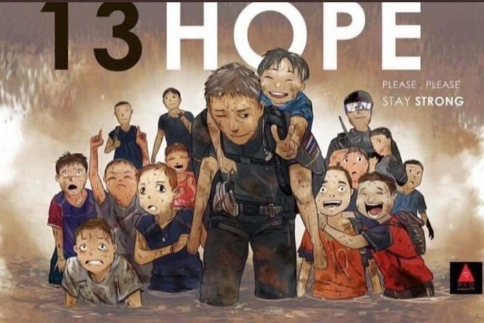 Những bức vẽ dễ thương mà ý nghĩa về cuộc giải cứu thần kỳ đội bóng Lợn Hoang - Ảnh 6