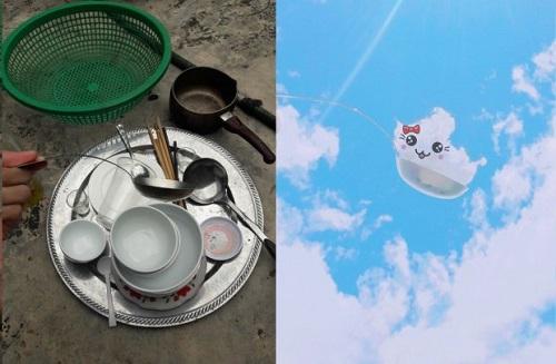 Thanh niên sáng tạo bộ ảnh mây trời siêu dễ thương trong khi rửa bát - Ảnh 3