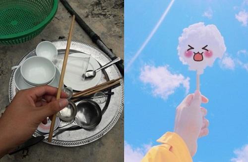 Thanh niên sáng tạo bộ ảnh mây trời siêu dễ thương trong khi rửa bát - Ảnh 6