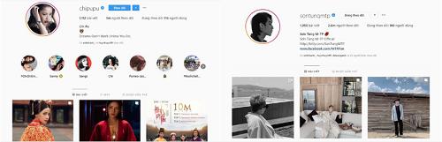 """""""Soán ngôi"""" Chipu, Sơn Tùng M-TP trở thành nghệ sĩ Việt có lượt theo dõi 'khủng' nhất trên Instagram - Ảnh 2"""
