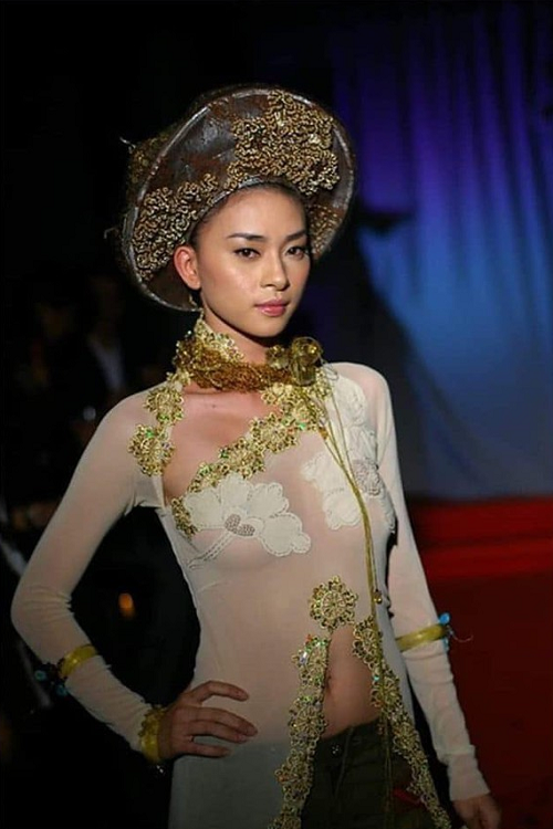 Loạt sao Việt từng bị chỉ trích vì mặc áo dài phản cảm - Ảnh 1